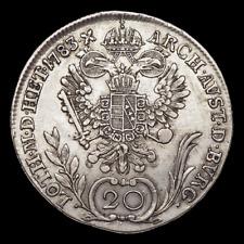 AUSTRIA. Joseph II, Silver 20 Kreuzer, 1783