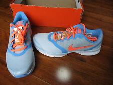 NEW NIKE In-Season Tr 4 Training Shoes WOMENS SZ 6 Grey/Mango/Blue $75.00