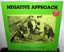 NEGATIVE APPROACH Tied Down LP PUNK ROCK Hardcore Oi! NECROS The Fix DIE KREUZEN