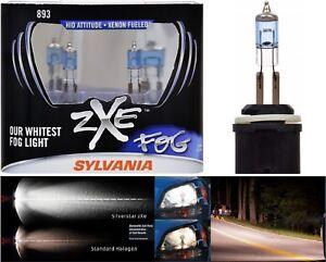 Sylvania Silverstar ZXE 893 37.5W Two Bulbs Fog Light Upgrade Replacement Legal