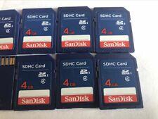 10PCS   SANDISK SD  4GB   CARD memory card