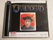 AND YOU WILL KNOW US BY THE TRAIL OF THE DEAD INSTANT LIVE 2CD SAN FRAN 5/25/05
