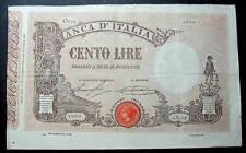 ITALY 1925 100 LIRE CENTO LIRE RR one hundred