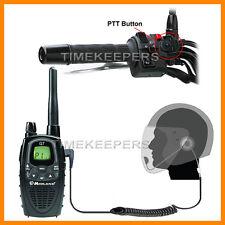 HM-1000 Visage Découvert Moto Micro-casque Interphone Midland Radio G5 G6 G7 G7E