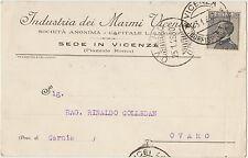 VICENZA - INDUSTRIA DEI MARMI VICENTINI 1928