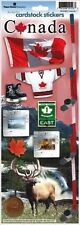 "CANADA Scrapbook Stickers 13"" x 4.5"" Travel Vacation Maple Leaf"