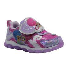 Shimmer & Shine Toddler Girls Light Up Sneakers MANY SIZES NEW!