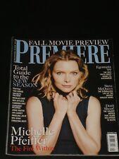 PREMIERE magazine 1999, Michelle Pfeiffer, Steve McQueen, Jodie Foster, Meg Ryan