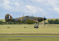 Hawker Hurricane RF-E landing canvas prints various sizes free delivery