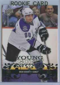 DREW DOUGHTY -LA Kings - 2008/09 Upper Deck Series 1 - Young Guns Rookie Card RC