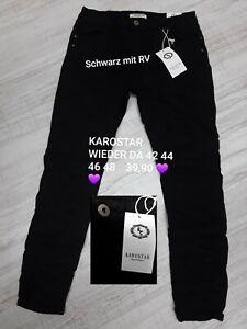 KAROSTAR Jeans Schwarz Gr. 42 44 46 48  Stretch RV