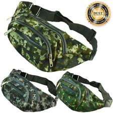 Unisex Fanny Pack Waist Hip Belt Bag Camo Travel Pocket Sports Purse Pouch LOT