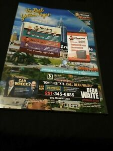 THE REAL YELLOW PAGES Greater Mobile Alabama August 2020 telephone book phone