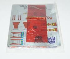 Thrust SEALED PACKET Vintage Sticker Decal Sheet G1 Transformers