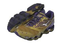 New Mizuno Wave Prophecy 5 Running Shoes Women's Size 8 Gold/Purple Last Pair