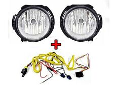 2006-2011 Chevy HHR Replacement Fog Lights Set with Wire Harness Left + Right