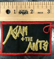 Vintage Adam And The Ants Patch 1980's- English Goody Two Shoes Queen Wonderful