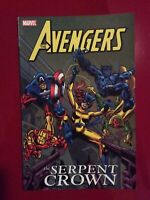 The Serpent Crown TPB of Avengers 141-144, 147-149 Captain America, Iron Man!