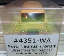For H0 Slotcar Racing Model Railway Ford Taunus Transit Von Bauer Boxed