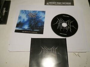 ARCTIC REIGN(GR)-The birth of a Carnival,2016NEW CD,Varathron,thou art lord