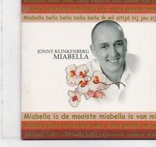 Jonny Klinkenberg-Miabella cd single