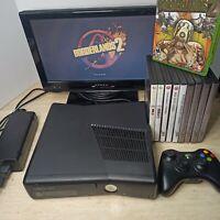 Microsoft Xbox 360 Bundle 250GB Console Bundle w/ 10 Games & More TESTED