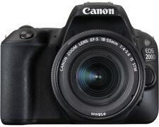 CANON EOS 200D Kit Spiegelreflexkamera 24.2 Megapixe Objektiv 18-55 mm IS STM
