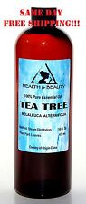 TEA TREE ESSENTIAL OIL AROMATHERAPY NATURAL 100% PURE 16 OZ