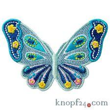 Applikation zum Aufbügeln Schmetterling jeansblau (#70359)