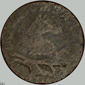 1786 New Jersey Cent, Maris 17-b, W-4870, Overstruck? R.3 See Description
