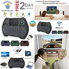 Mini Wireless Keyboard Touchpad Mouse Combo Android TV Box Consoles Windows Mac