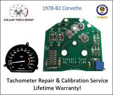 TACHOMETER REPAIR SERVICE - Corvette Tach