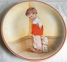 'Thank God For Fido' by Mabel Lucie Attwell, Silver Linings Collection Plate 7""
