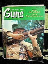 GUNS 5/1961~HARVEY BULLET~COLT GOLD CUP 38~WINCHESTER M21~ELMER KEITH~SHOT TOWER