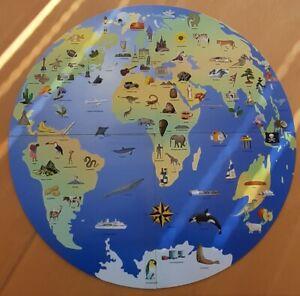 Die Welt für Kinder - Riesenklapptafel + Begleitheft