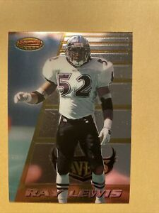 1996 Bowmans Best RAY LEWIS Rookie Baltimore Ravens #164