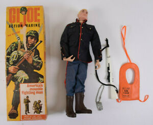 1964 G.I. Joe Action Marine, Dress Parade Uniform Set and Air Vest