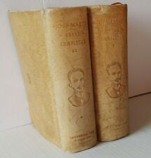 1946 Obras Completas Jose Marti Complete Works in 2 Volumes Cuba First Edition