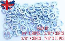 BSA & TRIUMPH MOTORBIKE FIXING IMPERIAL SPRING WASHER LOT OF 120 PCS