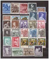 s31856) VATICANO MNH** 1964 Complete Year set 29v