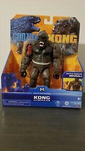 Godzilla vs Kong: Kong with Battle-Axe and Battle Damage Reveal