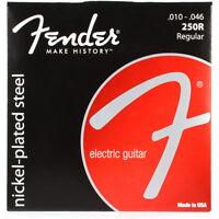 3set of Fender 250R Nickel-Plated Steel Electric Guitar Strings (10-46)