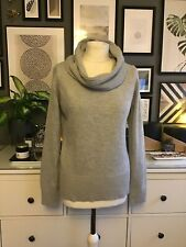 Grey 14 Jumper Angora Lambs Wool Cozy Blogger Trend