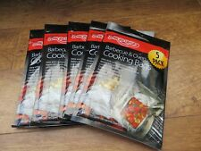 BNIB BARBECUE AND OVEN COOKING BAGS X 5 PACKS BY BAR-BE-QUICK