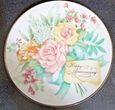 AVON Joyous Occasions 'Happy Anniversary' Collectible Plate