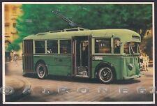 FILOBUS FIAT 635 F - GENOVA - UITE - Cartolina EDIZIONE 1990 circa