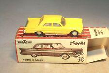 1960 Mercury Comet HO Scale Anguplas Made in Spain Mint in Box