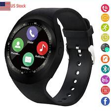 Men Boys Smart Watch Bluetooth Wristwatch for Android Huawei LG V30 V20 K8 K7 G5