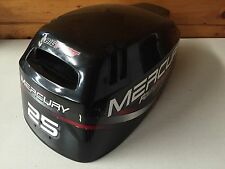 1998 Mercury F 25 HP 4 Stroke Outboard Engine Top Cowl Cover Hood Freshwater MN