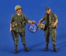 "Verlinden 1/35 ""Search & Destroy"" US Soldiers in Vietnam War (2 Figures) 2527"
